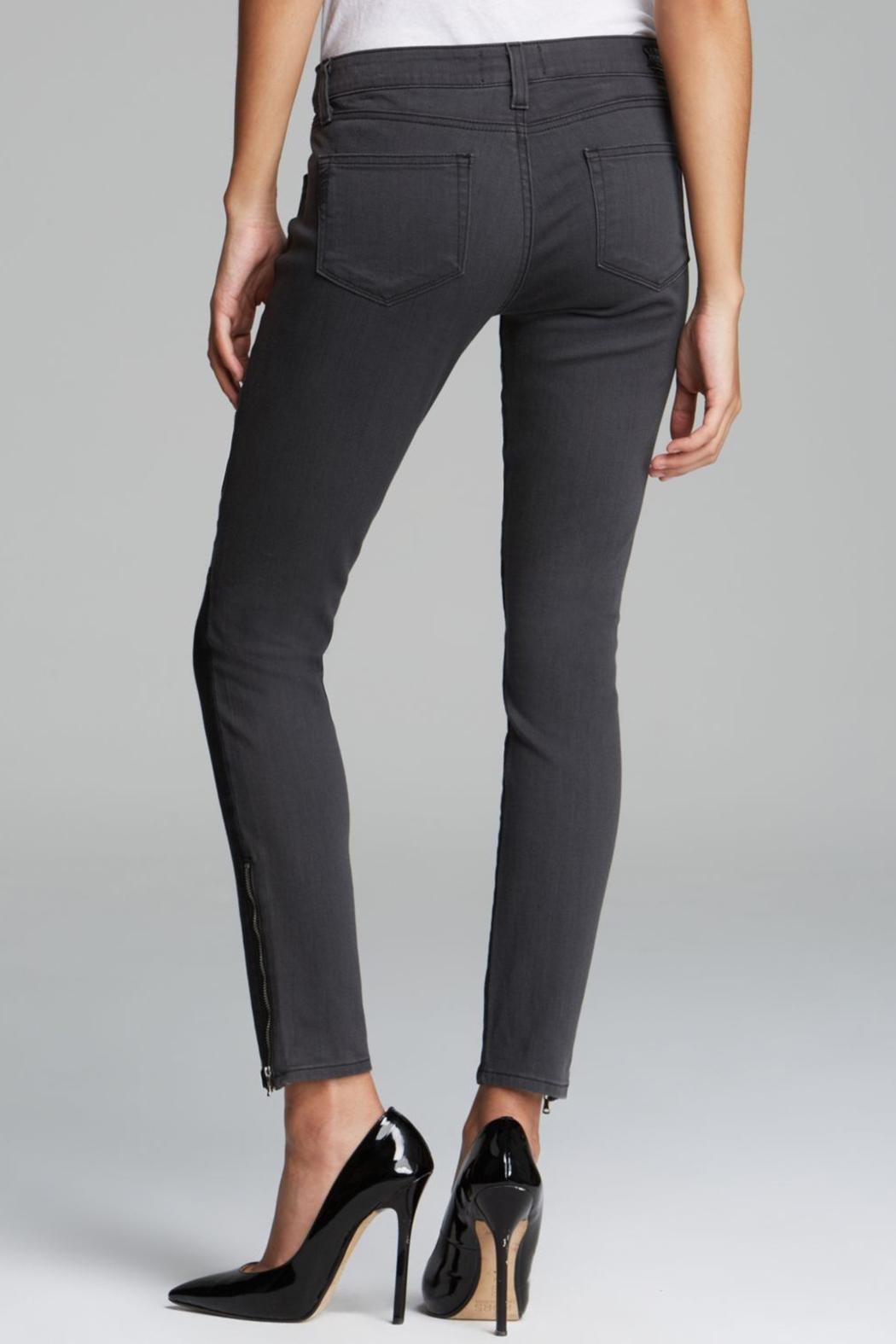 Paige Cara Ultra-Zip Skinny - Side Cropped Image