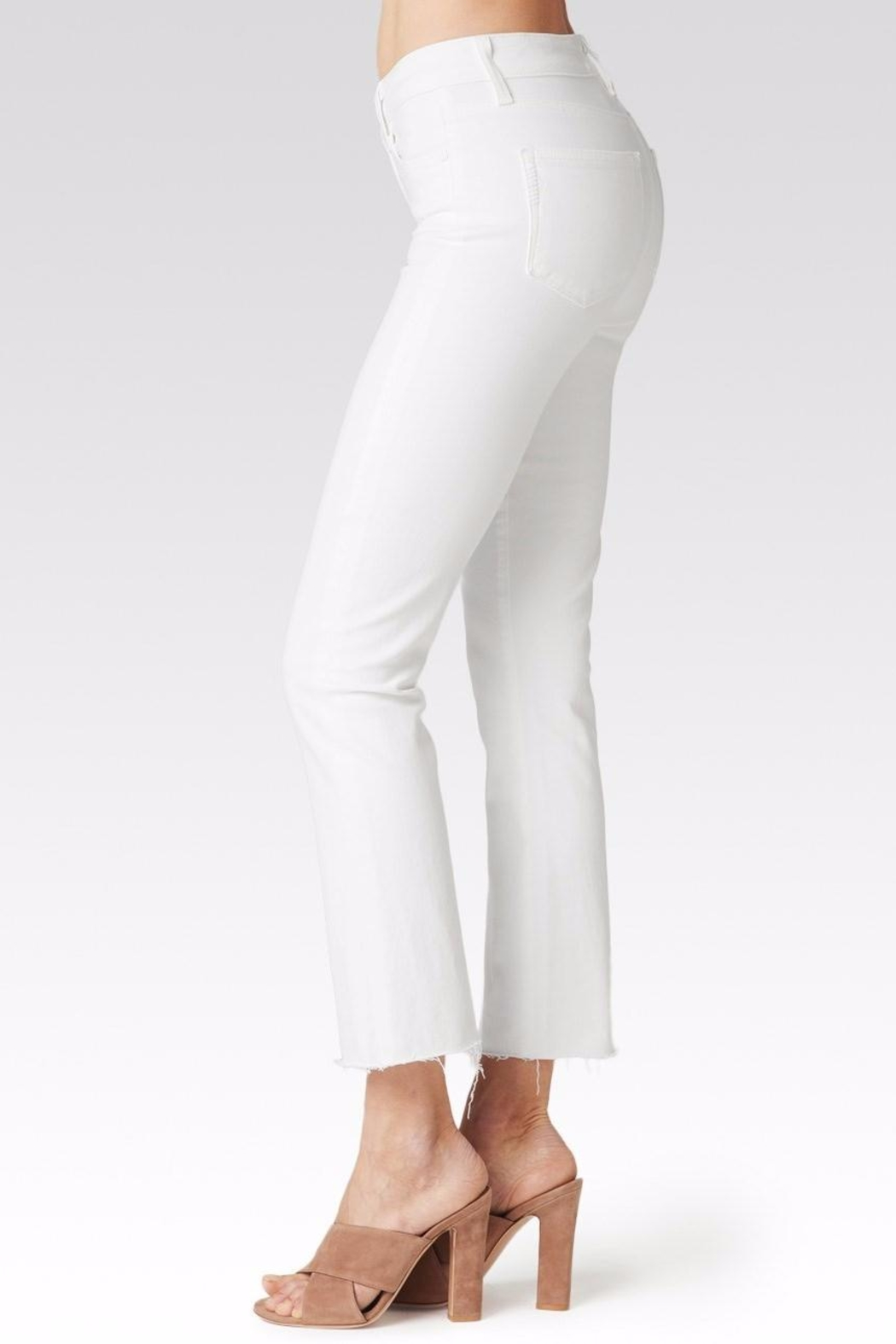 Paige Colette Crop Flare Jeans - Front Full Image