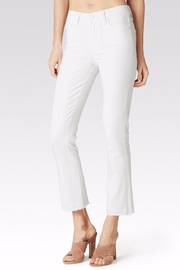 Paige Colette Crop Flare Jeans - Front cropped