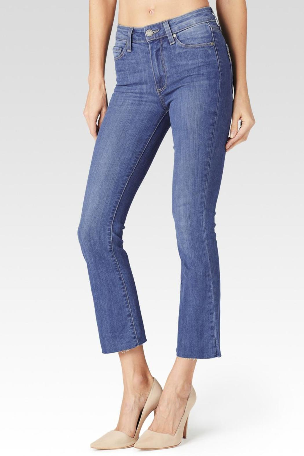 Paige Colette Cropped Flare Jeans - Main Image
