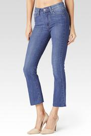 Paige Colette Cropped Flare Jeans - Front cropped