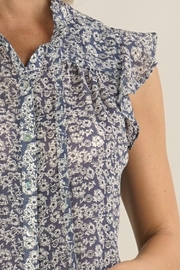 Lovestitch PAIGE FLORAL BLOUSE - Side cropped