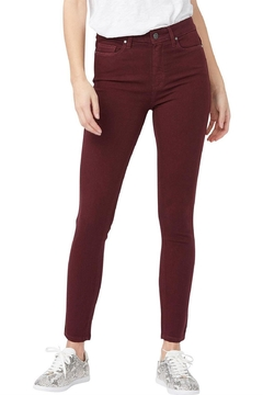 Paige Hoxton Ultra Skinny Jeans In Midnight Affair - Product List Image