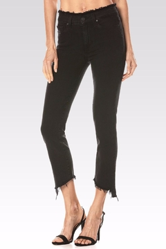 Shoptiques Product: Julia Angled Frayed Jeans