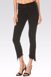 Paige Julia Angled Frayed Jeans - Product Mini Image