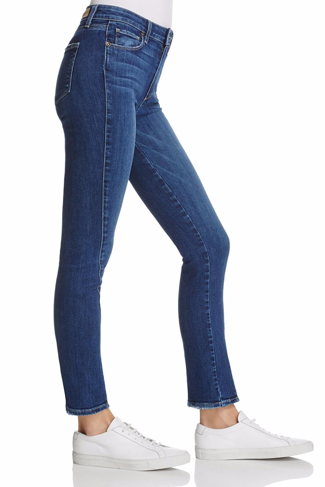 Paige Julia Twisted Seams Jeans - Side Cropped Image