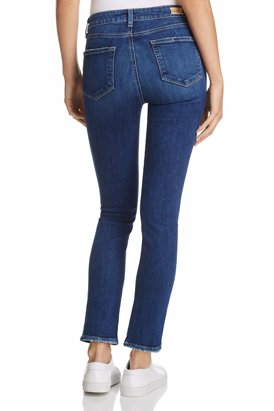 Paige Julia Twisted Seams Jeans - Front Full Image