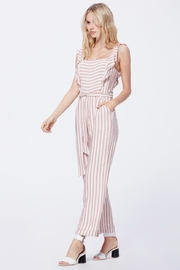 Paige Stripe Romper - Front cropped