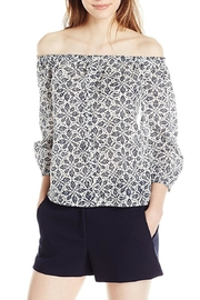 Paige Savannah Offshoulder Top - Front cropped