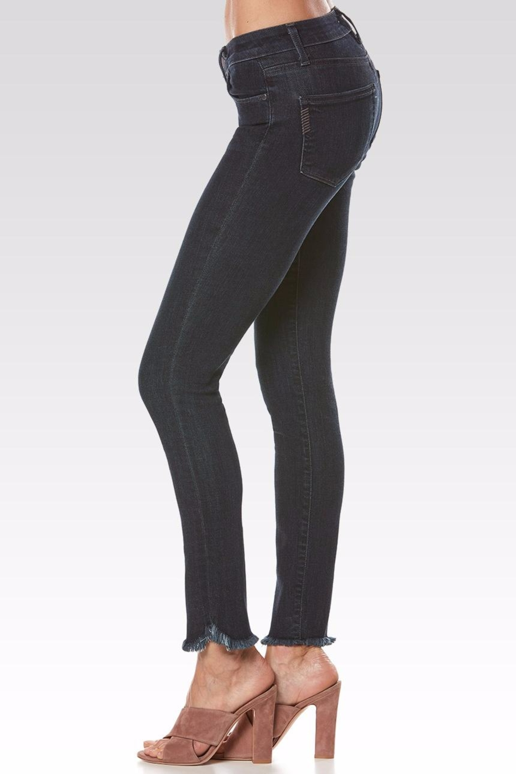 Paige Skyline Ankle Peg Jeans - Front Full Image