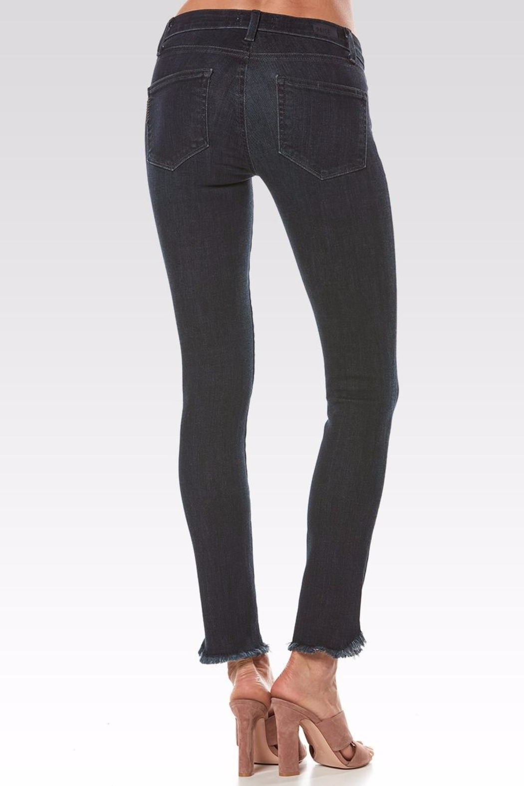 Paige Skyline Ankle Peg Jeans - Side Cropped Image
