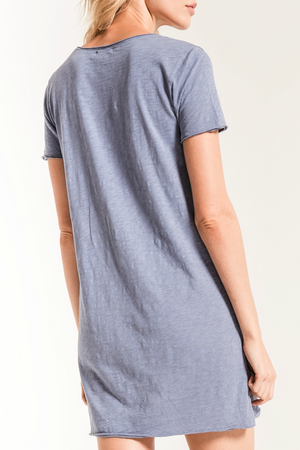 z supply Paige T Shirt Dress - Side Cropped Image