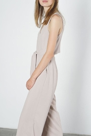 Mod Ref Paige Taupe Jumpsuit - Side cropped