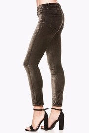 Paige Verdugo Velvet Ankle Jeans - Side cropped