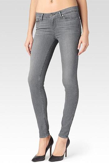 Shoptiques Product: Verdugo Silver Skinnies - main