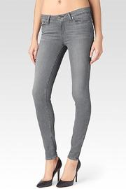 Paige Denim Verdugo Silver Skinnies - Product Mini Image