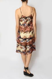 Ottod'ame Paint-By-Numbers Dress - Back cropped