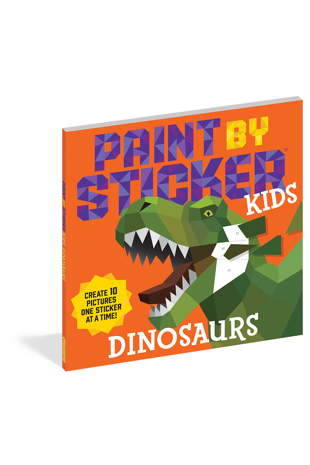 Workman Publishing Paint By Sticker Kids: Dinosaurs - Main Image