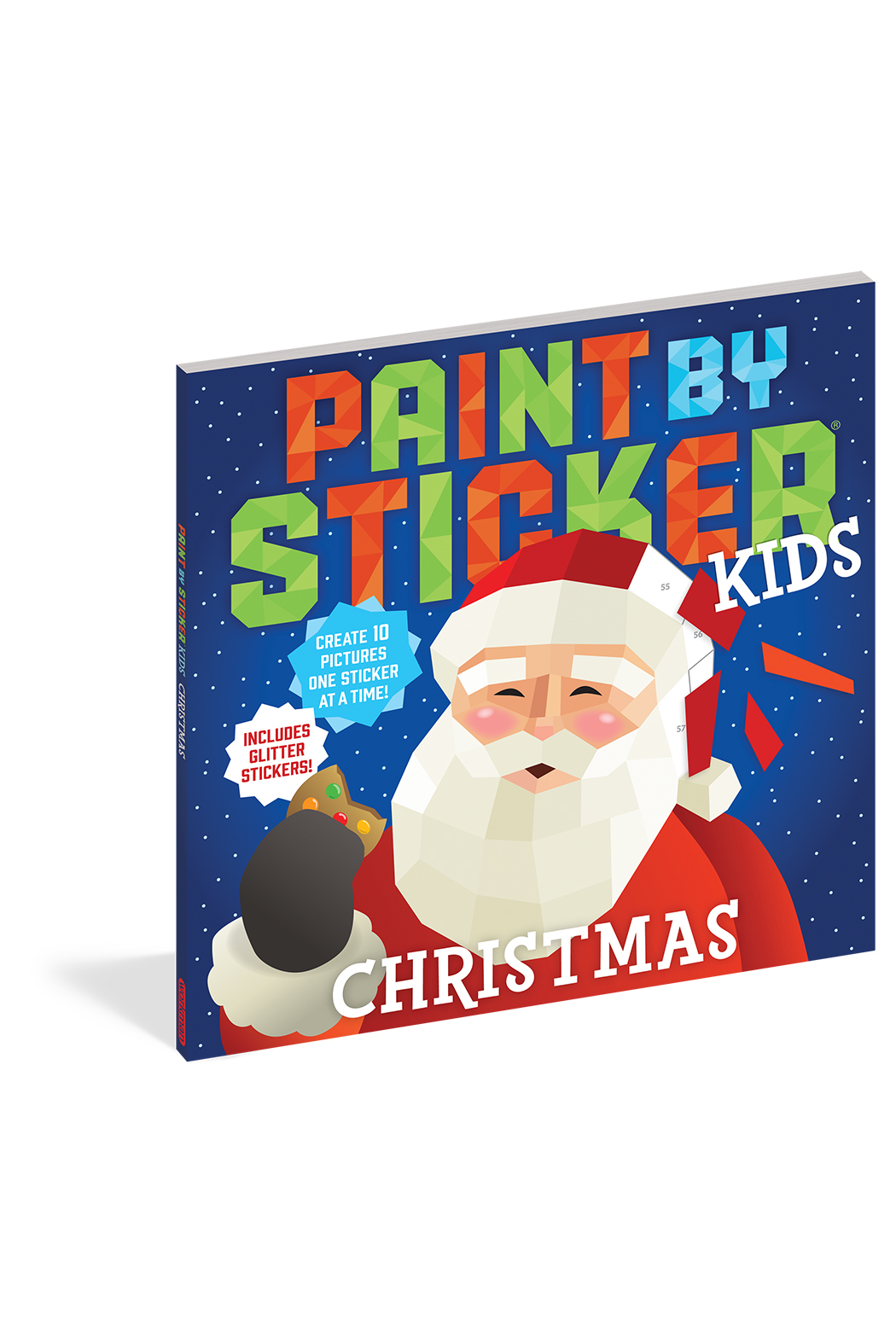 Workman Publishing Paint By Stickers Kids: Christmas - Main Image