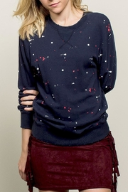 POL Paint Drip Sweatshirt - Front cropped
