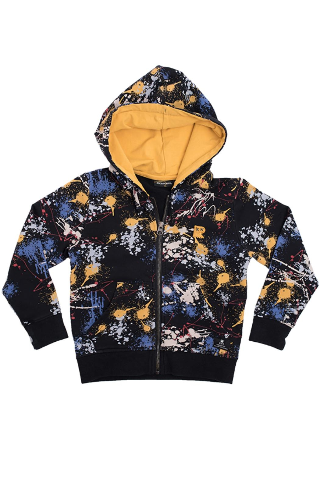 Rock Your Baby Paint Splatter Hoodie - Main Image
