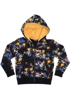 Rock Your Baby Paint Splatter Hoodie - Product List Image