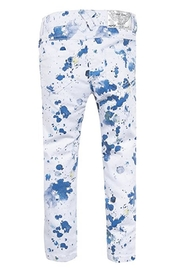 3Pommes Paint Splatter Jean - Front full body
