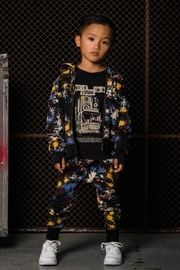Rock Your Baby Paint Splatter Trousers - Front full body
