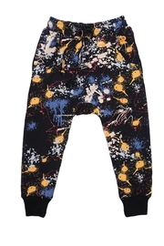 Rock Your Baby Paint Splatter Trousers - Front cropped