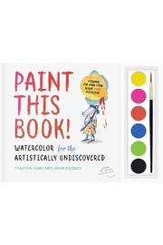 Workman Publishing Paint this Book! Watercolor for the Artistically Undiscovered - Front cropped