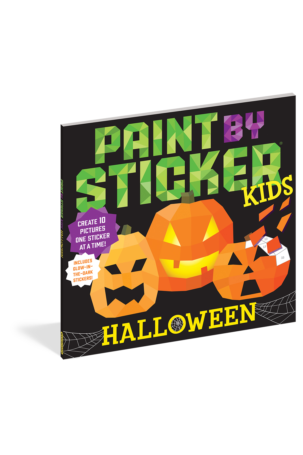 Workman Publishing Paint With Stickers: Halloween - Main Image
