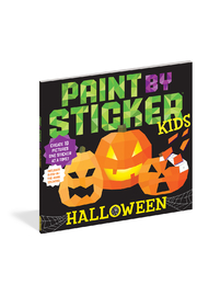 Workman Publishing Paint With Stickers: Halloween - Front cropped