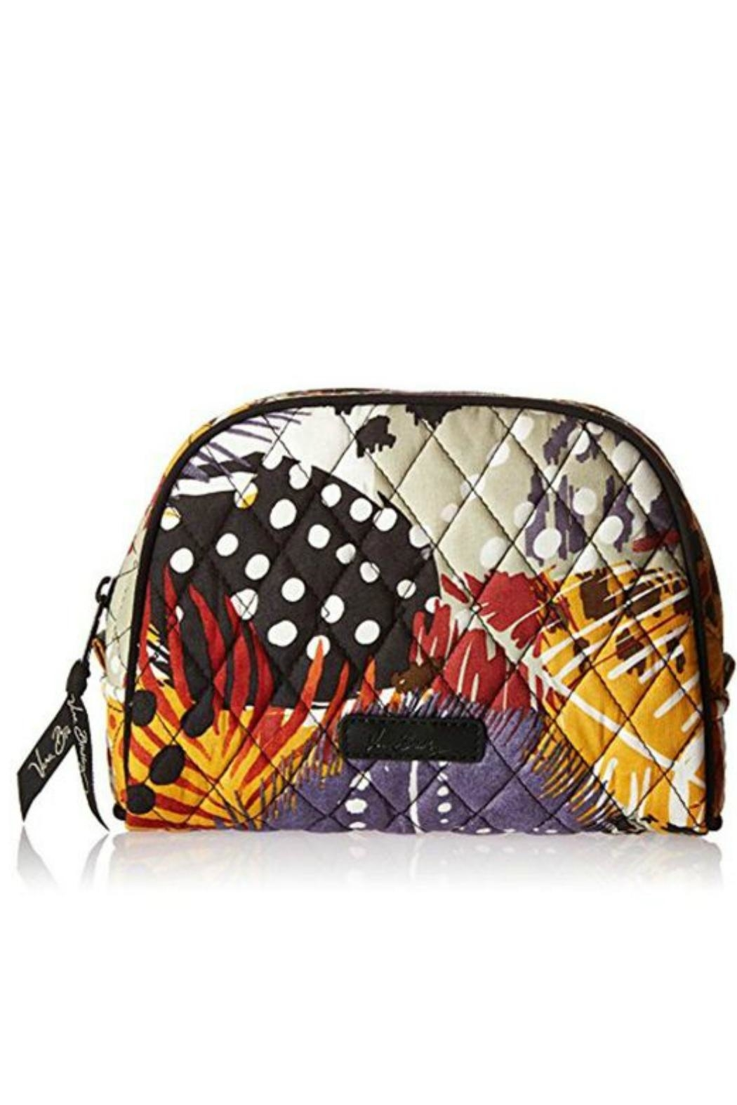 Vera Bradley Painted Feathers Large-Cosmetic - Main Image
