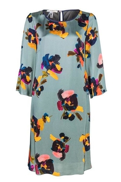 Dame Blanche Anvers Painted Flowers Dress - Product List Image