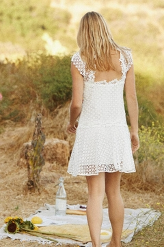 Saylor Painted Lace Dress - Alternate List Image
