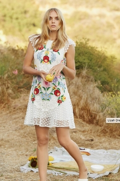 Saylor Painted Lace Dress - Product List Image