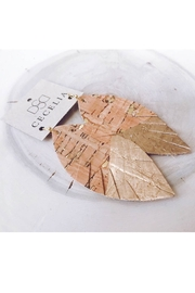 Cecelia Designs Jewelry Painted Leather Earring Collection - Product Mini Image