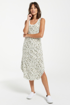 z supply Painted Leopard Scoop Dress - Product List Image