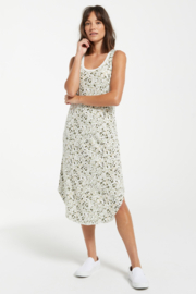 z supply Painted Leopard Scoop Dress - Product Mini Image