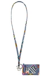 Vera Bradley Painted Medallions Lanyard/id-Set - Product Mini Image