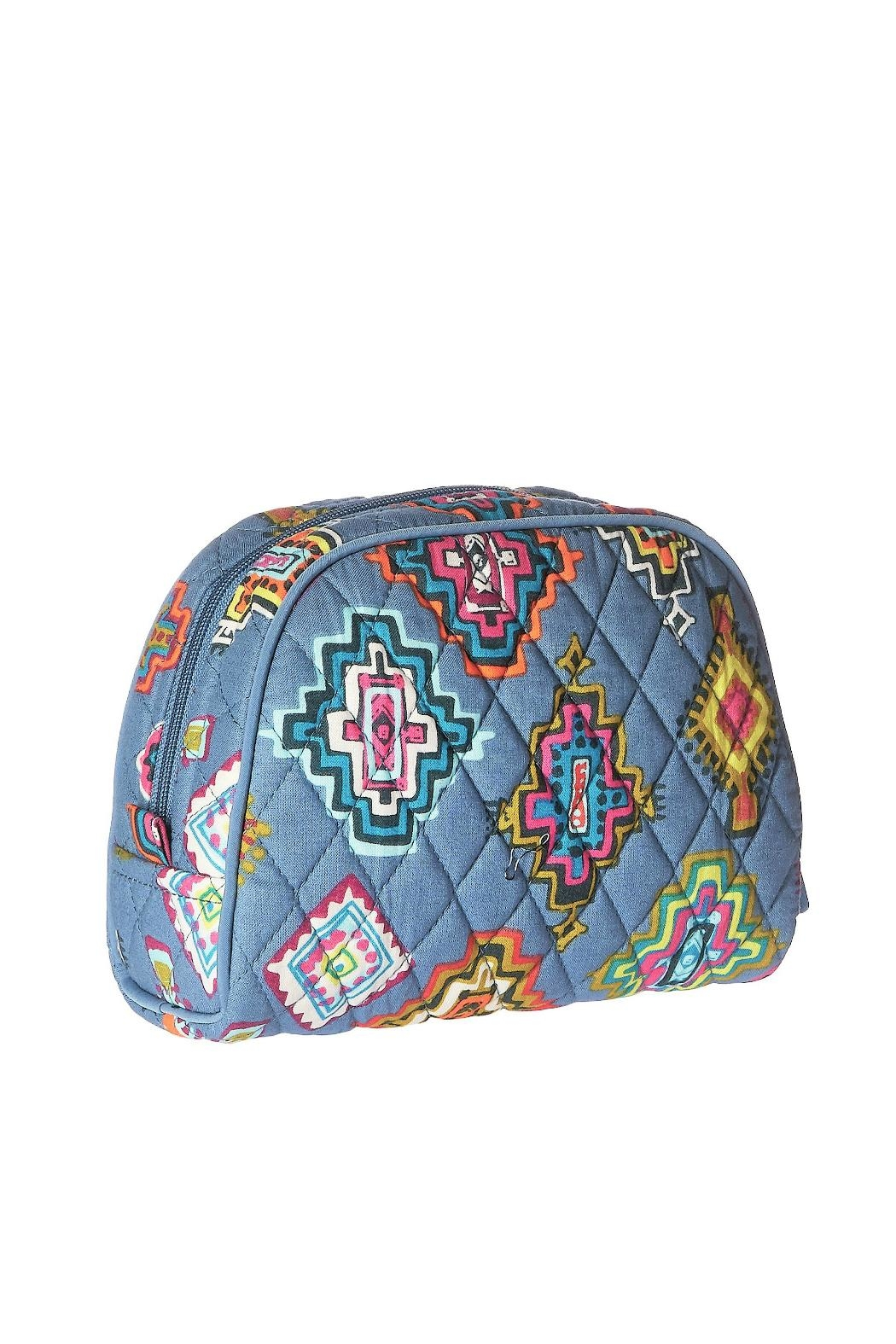31afe061d1 Vera Bradley Painted Medallions Medium-Cosmetic - Front Cropped Image