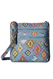 Vera Bradley Painted Medallions Triple-Zip - Product Mini Image