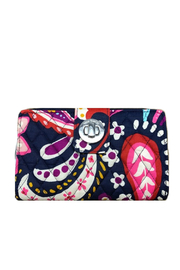 Vera Bradley Painted Paisley RFID Turnlock Wallet - Product Mini Image