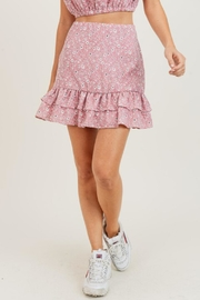 Painted Threads  Lily Ruffle Skirt - Front cropped