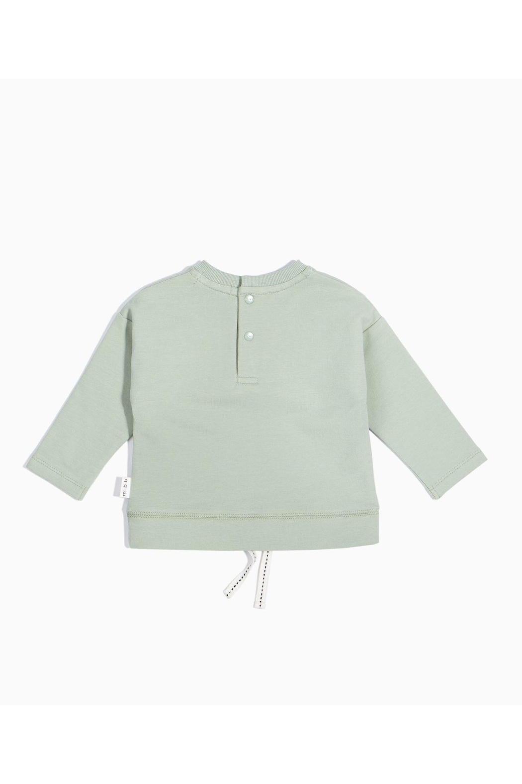 Miles Baby Painter Drawstring Sweatshirt - Front Full Image