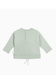 Miles Baby Painter Drawstring Sweatshirt - Front full body