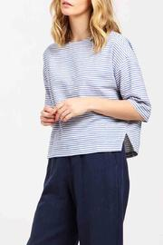PAISIE Boxy Striped Top - Product Mini Image