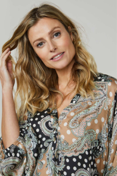 Summum Paisley and Dots Top - Product List Image