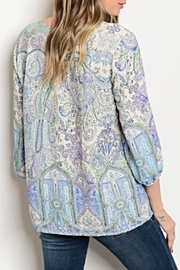 Available Paisley Blouse - Front full body