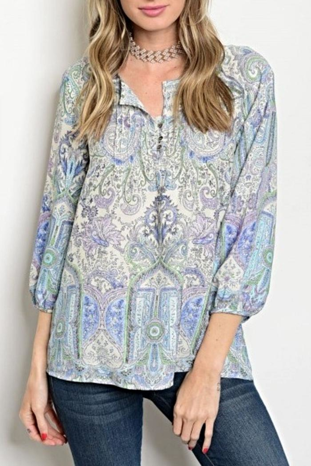 Available Paisley Blouse - Main Image